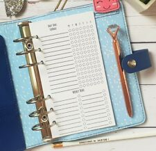 Daily Weekly Task Cleaning Personal size Filofax KikkiK planner insert ringbound