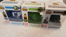 Disney Tsum Tsum Lip Smacker Balm Star Wars Lot of 3 Darth Vader Yoda R2-D2