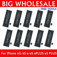 Wholesale Replacement Internal Battery for iPhone 5 5c 5g 6 6s 6s Plus +Tool Lot