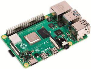 Raspberry Pi 4 Model B 8GB Board -  RPI4-MODBP-8GB (SD not pre-installed)
