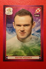 Panini EURO 2012 N. 512 ENGLAND ROONEY  NEW With BLACK BACK TOPMINT!!