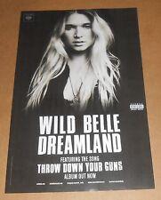 Wild Belle Dreamland Poster 2-Sided Original 2015 Promo 11x17