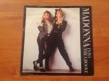 MADONNA / 1985 Vinyl 45rpm Single / INTO THE GROOVE