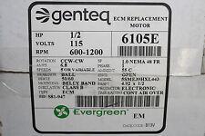 Genteq Evergreen Motor 6105E 1/2 HP 115V
