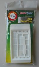WATERSLIDE DECAL TRAY HOBBY MASTER TOOLS TRUMPETER SCALE MODEL ACCESSORY