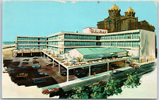 The Bala Motel Illinois Ave. Atlantic City New Jersey Mid-Century Hotel Postcard