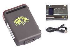 Quad band Mini GPS/GSM/GPRS Car Vehicle Tracker TK102B TF Card Solt + retail box