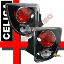 2000-2005 Toyota Celica Tail Lights Lamps 1 Pair Black
