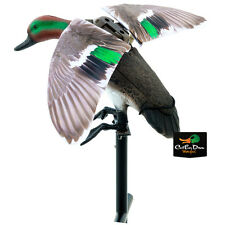 LUCKY DUCK EDGE EXPIDITE RAPID FLYER GREEN WING TEAL FLAPPING WING MOTION DECOY