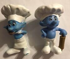 2011 McDonald's - Smurfs - SET OF 2  (CHEF & BAKER)   #200