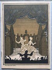 Programme THEATRE NATIONAL DE L'OPERA COMIQUE Mireille MICHEL CARRE Stach 1927 *