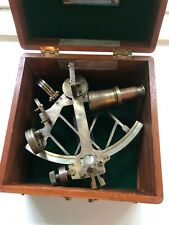 Sextant Possibly Made By Henry Hughes & Sons Ltd., London
