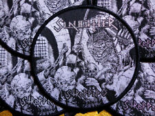 SLAUGHTER - Official Woven Patch / Necrophagia Morbid Saint Sacrifice Necrovore