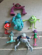 Monsters Inc talking Waternoose & Sully figure toy playset bundle jumbo size