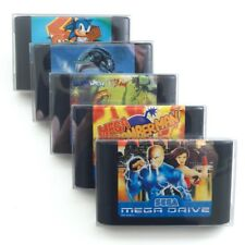 Cartridge Protectors for SEGA MEGA DRIVE, Master System & Famicom Carts 10 Pack