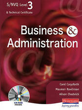 S/NVQ Level 3 Business & Administration Student Book (S/NVQ Business & Administr