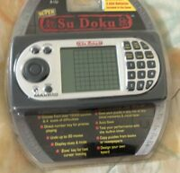 Super Su Doku Electronic Hand Held Game by Maximo Ancient Japanese Puzzle Game