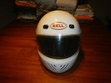 vintage bell rs III rs-3 helmet white size large with visor