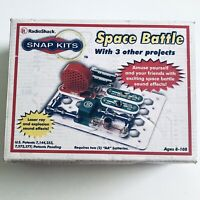 Radio Shack Snap Kits Space Battle +3 Circuits Building Learning Toy