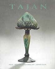 Catalogue 20th Century Design Art Deco Nouveau verrerie Daum Gallé Glassware