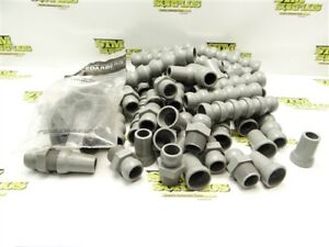 """LARGE LOT OF NEW 3/4"""" CEDARBERG SNAP-LOC SYSTEMS PARTS & ACCESSORIES"""
