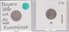 3 Kreuzer Silber Münze Bayern 1850 (121766)