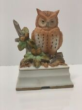 Owl Music Box by Towle