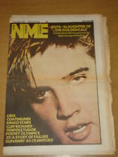 NME 1981 DEC 5 ELVIS RINGO STARR CLIFF RICHARD LINX