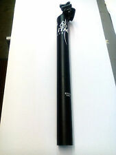 ITM Alutech Seatpost. 7075 31.6 x 350mm. Black. New. UK Seller