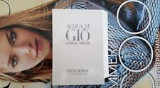 ACQUA DI GIO by Giorgio Armani Eau de Toilette 1.2ml / 0.04oz ea NEW