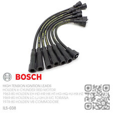 BOSCH SPORTS IGNITION LEADS 6 CYL 149-161-179-186 RED MOTOR [HOLDEN EH-HD-HR]