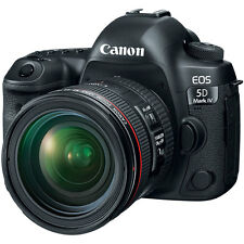 Canon EOS 5D Mark IV 30.4 MP CMOS DSLR Camera + EF 24-70mm f/4L IS USM Lens