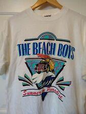 "VINTAGE""BEACH BOYS WORLD TOUR 1996 CONCERT MEN'S TEE SHIRT Large Oneita"