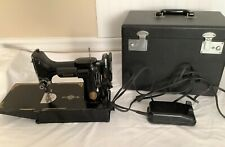 New ListingVintage 1953 Singer 221 Featherweight Sewing Machine with case