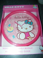 horloge pendule hello kitty neuve