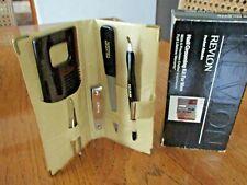 New Revlon Nail Grooming 5 Pc Kit for Men in Beige Travel Case