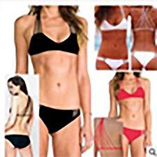 Black Strappy Bikini - AUS Size 10-12 - BNWT