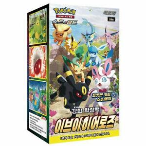 """Pokemon Card Sword & Shield Enhanced Expansion Pack """"Eevee Heroes"""" / Korean Ver."""