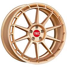 """19"""" TEC GT8 Rose Gold Alufelgen 5x112 für VW Golf 6 Variant 1KM"""