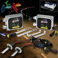 9007 HID KIT 6000K 6K SUPER WHITE LIGHT/LIGHTS PLUG AND PLAY + BULBS + BALLASTS