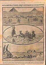 Machine Gun Soldiers Tommies British Army Pyramids Egypt Australia Suez WWI 1915