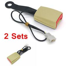 "2pcs Universal 7/8"" Car Seat Belt Buckle Clip Connector Car Safety Belt Socket"