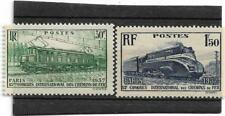 1937 -  TIMBRES FRANCE NEUF  n° 339 et 340 **