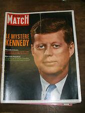 Paris Match N° 934 4 mars 1967 Le mystère Kennedy Nouvelle Orléans Caroline