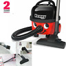 NUMATIC Henry HVR160 Cylinder Vacuum Cleaner - Red - class A-2 years warranty UK