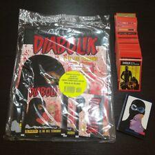 ALBUM DIABOLIK PANINI STARTER PACK + SERIE COMPLETA 276 FIGURINE E 36 CARD