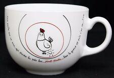 Lumenier Chicken Hen Mug Hickety Pickety English French Coffee Tea Hot Chocolate