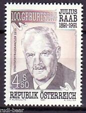Österreich Nr. 2047  **  Julius Raab
