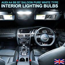 Audi A4 A6 B7 SALOON LED INTERIOR KIT - Xenon White Interior Lights Bulbs map