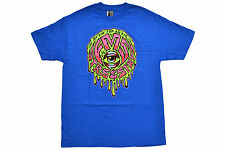 FAMOUS STARS AND STRAPS EYE FOR AN EYE TEE BLUE AUTHENTIC IMPORTED FROM USA